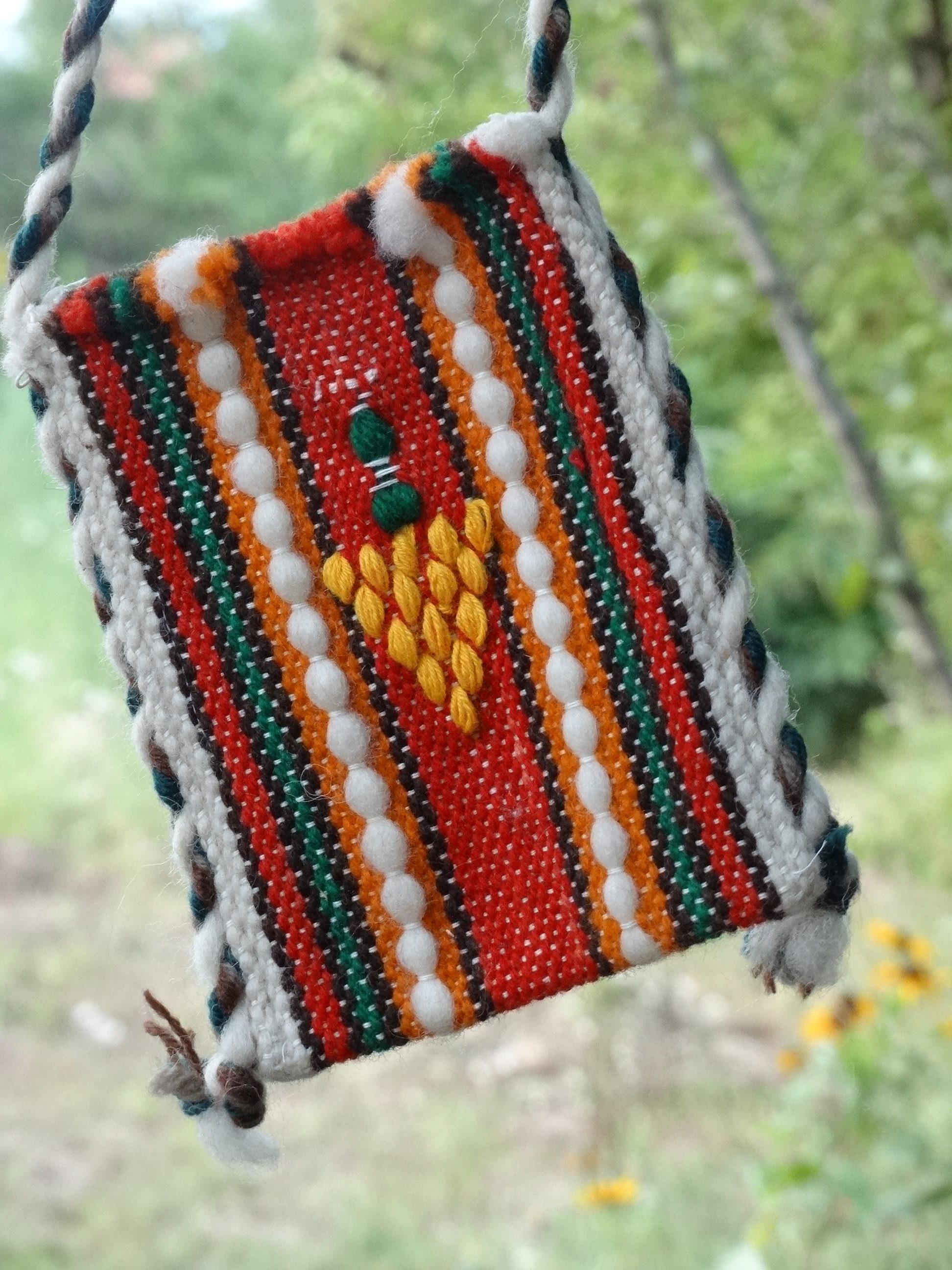 Тъкана торба с грозд