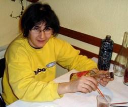Мариана Ангелова – сега – стъклото