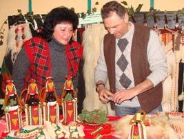 Наташа и Иван Манчови – майстори тъкачи